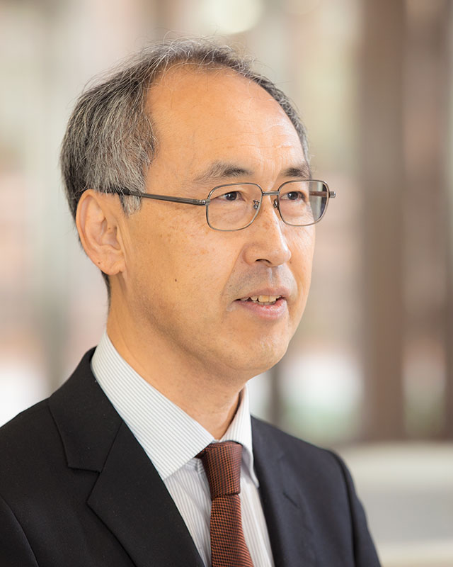 嶋田 教授