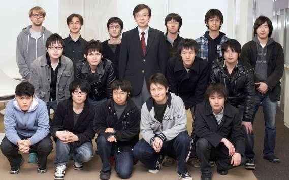 2010年度の秋山研究所メンバー写真